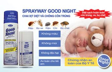 Good night - Diệt bọ chét, diệt rệp hiệu quả